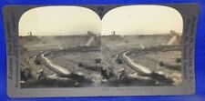 Illinois Joliet Stone Quarry Keystone Geography Stereoview