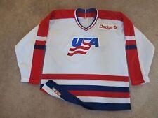 VTG Vintage Team USA Olympic Hockey Jersey-Adult L-CCM