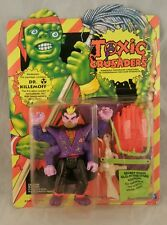 TOXIC CRUSADERS DR. KILLEMOFF ACTION FIGURE 1991 PLAYMATES NEW UNPUNCHED