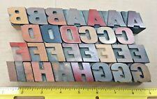 """117+ pieces Wood Type Letterpress Printing (1"""" high) Kelsey Vandercook"""