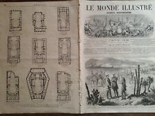 LE MONDE ILLUSTRE 1863 N° 316 EXPEDITION DU MEXIQUE- LE GENERAL FOREY