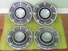 "70 71 72 Ford Hub Caps 14"" Set of 4 Wheel Covers 1970 1971 1972 Hubcaps"