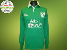 IRELAND IRFU CANTERBURY Rugby Union HOME 2001-2002 L Long Sleeves RUGBY SHIRT