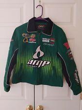 Women Dale Earnhardt Jr 88 Amp Energy National Guard Coat Jacket L 1012 NASCAR