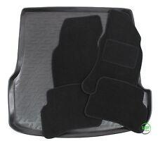 VW PASSAT B5  ESTATE 1997-2005 Tailored black floor car mats + boot tray mat