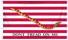 3x5 Gadsden First Navy Jack Perma Dye Nylon Flag Tea Party 3'x5' Banner