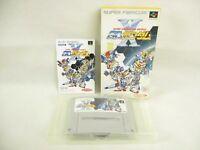 SD GUNDAM X Gachapon World Item ref/ccc Super Famicom Nintendo Japan Game sf