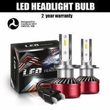 2PCS H7 LED Headlights Kit 60W 12000LM Car Driving Canbus Bulb High Power White