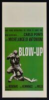 Plakat Blow Up Michelangelo Antonioni Redgrave Hemmings Green Kino Film L07