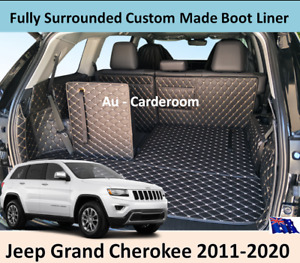 Jeep Grand Cherokee 2011-2020 Custom Made Trunk Boot Mats Liner Cargo Cover