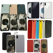 Back Glass Chassis Frame Battery Door Motherboard Housing For iPhone XR XS XSMax