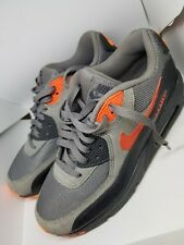 Nike Air Max 90 US BOYS 7 UK 6 EUR 40 Grey/orange/black