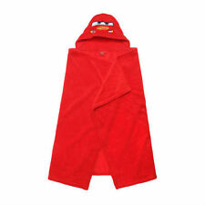 DISNEY cape de bain à capuche polaire / plaid CARS rouge  80 x 120 cm NEUF