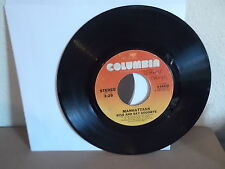 MANHATTANS Columbia 45 RECORD 3-10310 Wonderful World of Love & Kiss and Say Goo