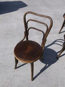 Antique Bentwood Chair RARE Albert Pick  Thonet J & J Kohn Barth Mundus