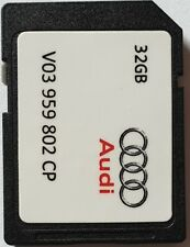 Carte SD GPS AUDI - MHIG MHI2 - Europe 2019