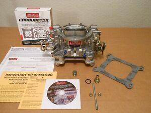Rem. Edelbrock 1407 High Performance 750cfm Univ. Chevy Ford 396 427 454 SS GT