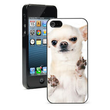 For Apple iPhone X XS Max XR 6 7 8 Plus Hard Case Cover 1256 Chihuahua Paws Up