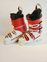 35 Atomic Racing Recco RT C5 100 White Red Ski Boots 284mm 9.5 Men F.I.S 45mm