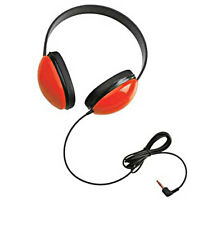 Califone 2800-RD Listening First Stereo Headphones with 3.5mm mini plug, Red