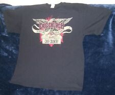 Eric Church Blood Sweat & Beers Tour Black T Shirt Double Sided - Xl