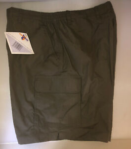 Fortress Mens Shorts Waist 40 Cargo Style Green