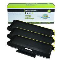 3PK TN580 Toner Cartridge For Brother HL-5240 HL-5250 MFC-8460N 8660DN DCP-8060
