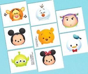 Tsum Tsum Disney Birthday Party 16 Tattoos Favors
