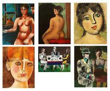 Franco Gentilini – Set of six original lithographs