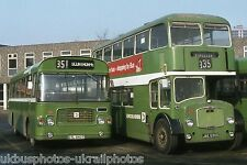 Lincolnshire Roadcar 1067 & 2715 Feb 1982 Bus Photo