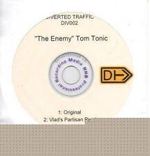 (P802) Tom Tonic, The Enemy - DJ CD