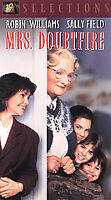 Mrs. Doubtfire VHS Video Tape Movie Robin Williams Sally Field
