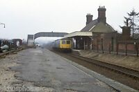 British Rail Class 105 Chappel & Wakes Colne 1982 Rail Photo