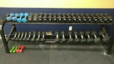 Dumbbell 10 lb Black Vinyl - Power Systems (2 weights being sold as pair/set)