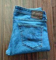 Ag Adriano The Tellis Modern Slim Blue Jeans Men's 34 Waist 32 Inseam