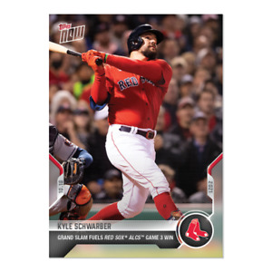 2021 Topps Now #983 Kyle Schwarber Boston Red Sox PRESALE