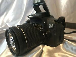 🔥Canon EOS 700D SLR-Digitalkamera mit Objektiv EF-S 18-55mm 1:3.5-5.6 IS STM 🔥