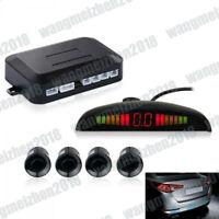1xWireless Reverse LED Display Buzzer Alarm 4 Parking Sensor Reversing Radar Kit