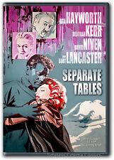 Separate Tables DVD New Deborah Kerr, Rita Kayworth, David Niven, Burt Lancaster