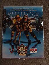 2014 Tim Hortons NHL Heritage Classic Offical Game Program - Vancouver vs Ottawa