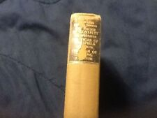 English Comedie Humaine; 3 stories, Vicar of Wakefield;  1904 HC