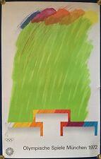 "Richard Smith: Kunstplakat OLYMPIA MÜNCHEN 1972 - ""Komposition"", 101cm x 65cm"