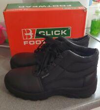 Click CDDCBL08 Chukka Men's Safety Boots Size 8