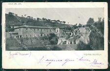 Frosinone Isola di Liri Cascata Valcatoio ABRASA cartolina KF2353