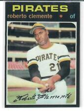 ROBERTO CLEMENTE 1971 TOPPS REPRINT!!  THIS IS A BEAUTY!!  NMT-MT PIRATES LEGEND