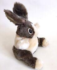 "Folkmanis Hand Puppet Baby Dutch Rabbit Bunny Plush S0 Furry Stuffed Animal 10"""