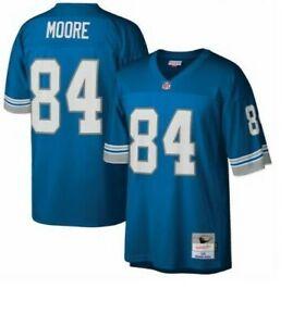 Mitchell & Ness Detroit Lions #84 Football Jersey New Mens Sizes $150