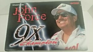 2000 John Force Castrol GTX Mustang Funny Car BOX ONLY SORRY CAR NOT INCLUDED