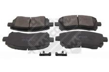 Bremsbelagsatz, Scheibenbremse für Bremsanlage Vorderachse MAPCO 6845