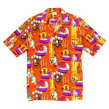 NEW Disney Star Wars Cantina Hawaiian Camp Shirt, Shag, M